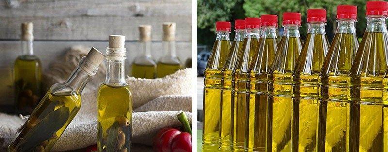 Хранение оливкового масла