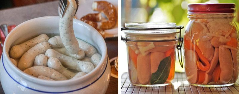 Хранение варёной колбасы