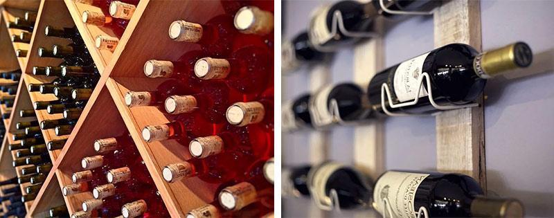 Хранение красного и белого вина