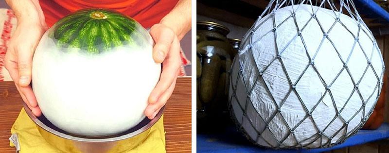 Хранение арбуза