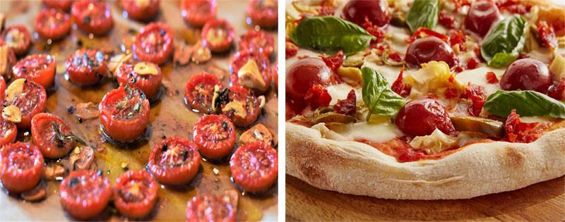 Помидоры для приготовления пиццы