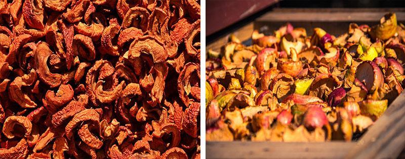 Сушеные яблоки заготовка