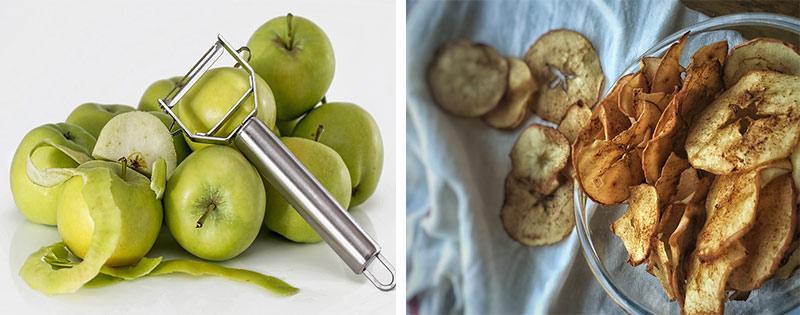 Яблоки сушеные слайсами