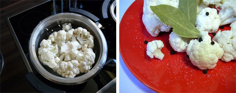 Заготовка цветной капусты
