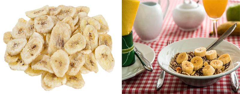 Блюда из сушеных бананов