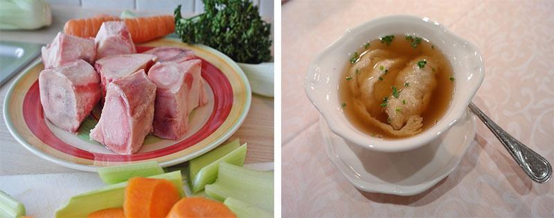 Заготовка и заморозка бульона