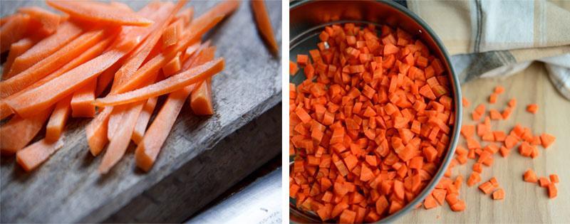 Сушеная морковь на зиму
