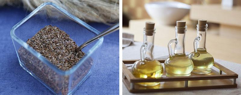 Приготовление и хранение льняного масла