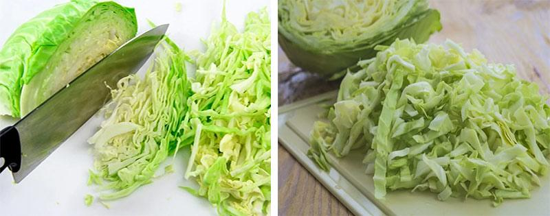 Нарезка и заморозка капусты