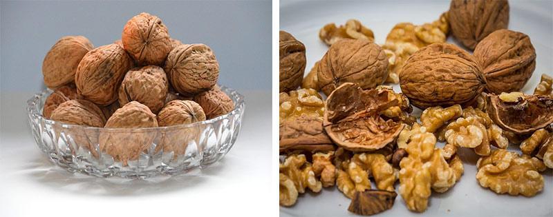Грецкие орехи сушеные