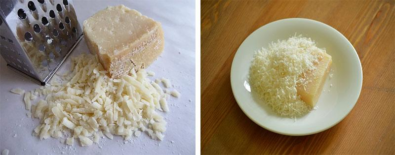 Тертый сыр заморозка
