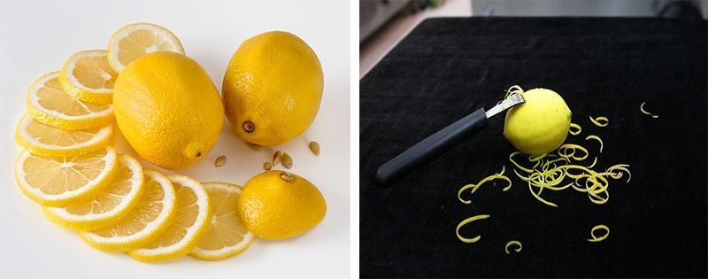 Заморозка лимонов и цедры