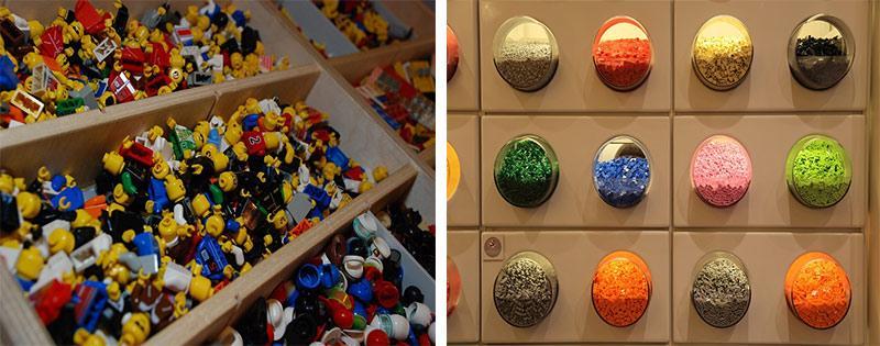 Хранение элементов Лего