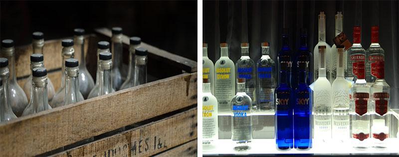 Способы хранения водки
